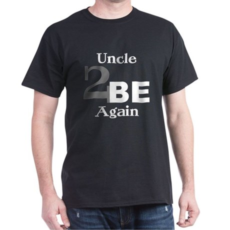 Uncle 2 Be Again Black T-Shirt