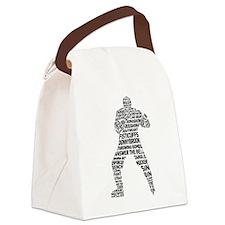 Hockey Enforcer Canvas Lunch Bag