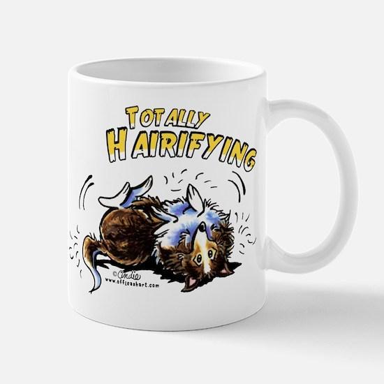 Sheltie Hairifying Mug