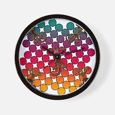 Karma Chameleon Wall Clock