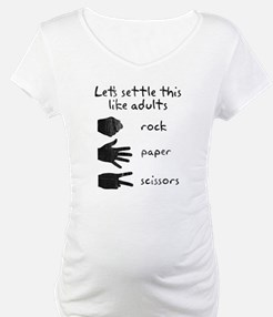 Settle This With Rock Paper Scissors Shirt