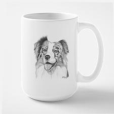 Australian Shepherd Large Mug
