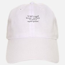 I talk to myself expert opinion Cap