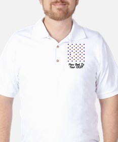 How bad is your OCD? Golf Shirt