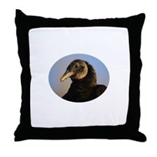 black vulture Throw Pillow