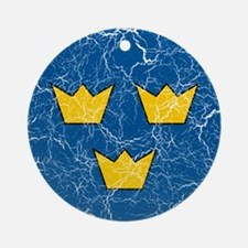 Sweden Roundel Ornament (Round)