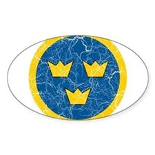 Sweden Roundel Decal