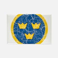 Sweden Roundel Rectangle Magnet