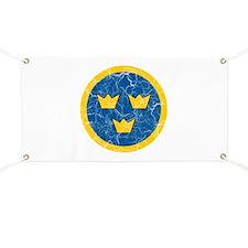Sweden Roundel Banner