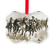The Fourth Troopers Moving the Led Horses Ornament