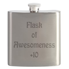 Cup of Awesomeness Flask