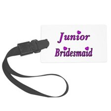 Junior Bridesmaid Simply Love Luggage Tag