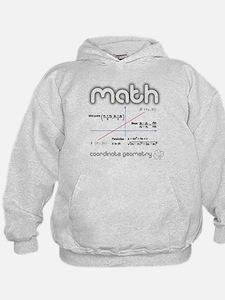 Math Coordinate Geometry Hoodie