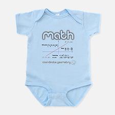 Math Coordinate Geometry Infant Bodysuit