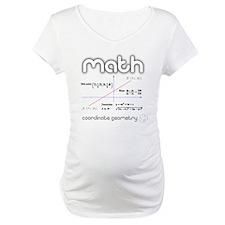 Math Coordinate Geometry Shirt