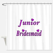 Junior Bridesmaid Simply Love Shower Curtain