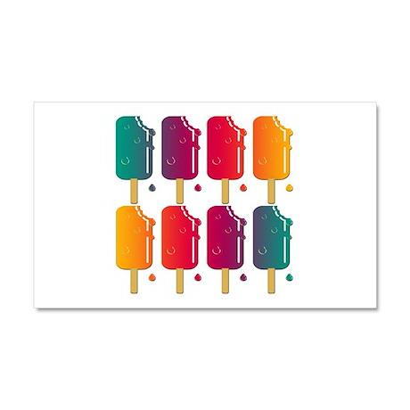 Popsicles Car Magnet 20 x 12