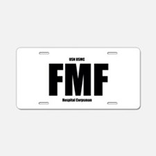 FMF Aluminum License Plate