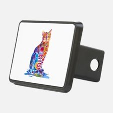 Whimsical Elegant Cat Hitch Cover