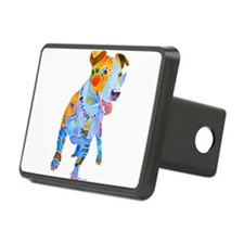 Jack Russell Terrier Many Colors Hitch Cover