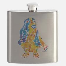 Bassett Hound Gifts Flask