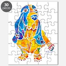 Bassett Hound Gifts Puzzle