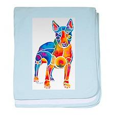 English Bull Terrier Art Gifts baby blanket