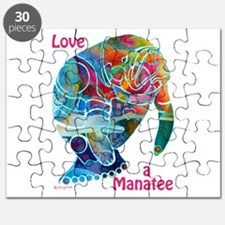 Manatees of Many Colors Puzzle