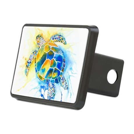 2-SeaTurtle3CafeZ.png Rectangular Hitch Cover
