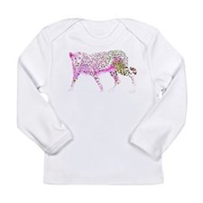 CheetahOrigPink.png Long Sleeve Infant T-Shirt
