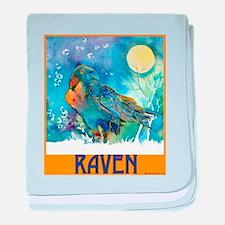 Lunar Raven 2 baby blanket