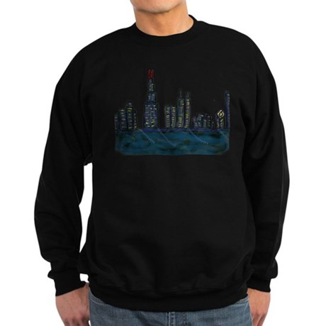 CITYMELTS CHICAGO SKYLINE Sweatshirt (dark)