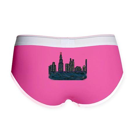 CITYMELTS CHICAGO SKYLINE Women's Boy Brief