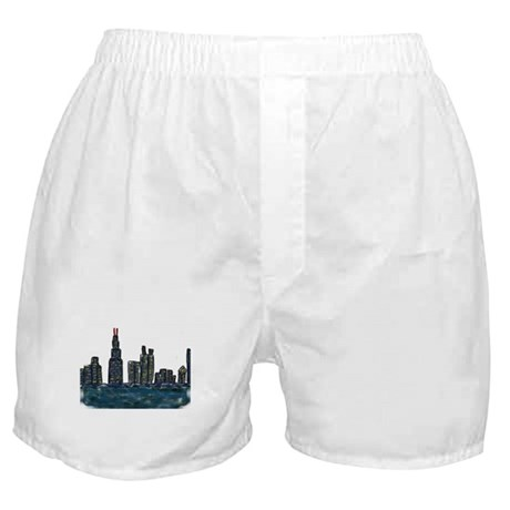 CITYMELTS CHICAGO SKYLINE Boxer Shorts