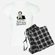 Romney Birth Certificate Pajamas