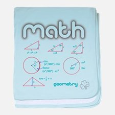 Geometry baby blanket