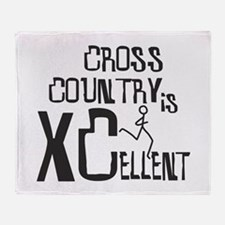XC Cross Country Throw Blanket