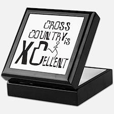 XC Cross Country Keepsake Box