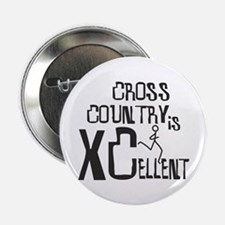 """XC Cross Country 2.25"""" Button"""