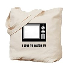 Love To Watch TV Tote Bag