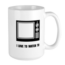 Love To Watch TV Mug
