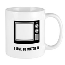 Love To Watch TV Mug