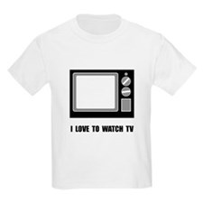 Love To Watch TV T-Shirt