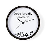 Clock does it really matter Wall Clocks