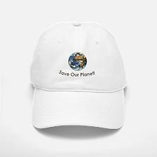 SaveOurPlanet Baseball Baseball Cap