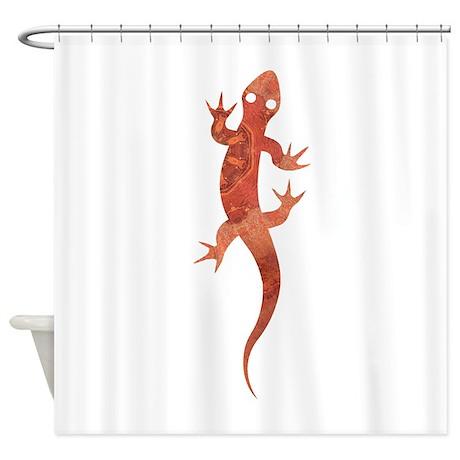 Chameleon Beloved V Shower Curtain