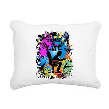 gamer4life.png Rectangular Canvas Pillow