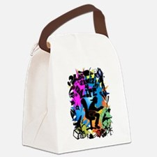 gamer4life.png Canvas Lunch Bag