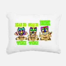TIKI1.png Rectangular Canvas Pillow