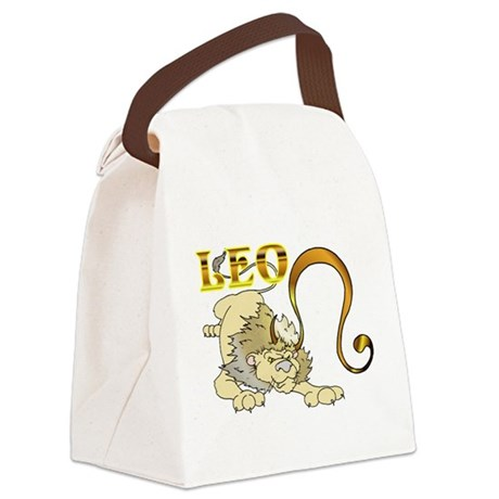 LEO.png Canvas Lunch Bag